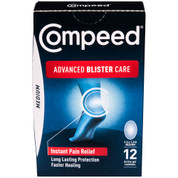 Compeed Advanced Blister Care Gel Cushions - Medium - 12-Count