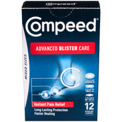 Compeed Advanced Blister Care Gel Cushions - Mixed Sizes - 12-Count