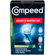 Compeed Advanced Blister Care Gel Cushions - Sports Version - 9-Count