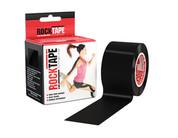 """RockTape  2"""" Black  Kinesiology Tape"""