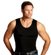 InstaSlim Men's Muscle Tank - Black