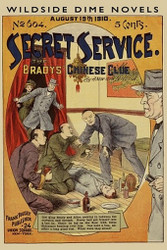 Secret Service #604: The Bradys' Chinese Clue, by A New York Detective (Paperback)