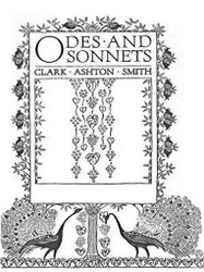 Odes and Sonnets, by Clark Ashton Smith (ePub/Kindle)
