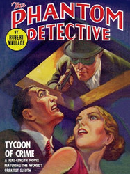 The Phantom Detective: Tycoon of Crime, by Robert Wallace (ePub)