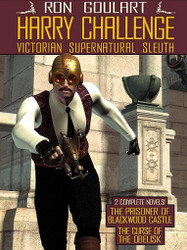 Harry Challenge: Victorian Supernatural Sleuth, by Ron Goulart (ePub/Kindle)