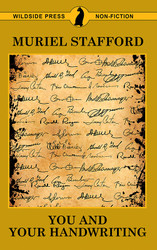 You and Your Handwriting, by Muriel Stafford (paperback)