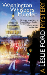Washington Whispers Murder, by Zenith Brown (writing as Leslie Ford) (Paperback)f)