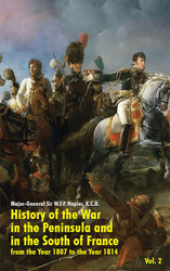 History of the War in the Peninsula and in the South of France: from the Year 1807 to the Year 1814, Vol. 2, by W.F.P. Napier (paperback)