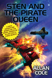 Sten and the Pirate Queen, by Allan Cole (ePub/Kindle)
