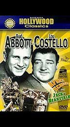 Abbott & Costello Double Feature: Africa Screams/Jack and Beanstalk (DVD) Mint!
