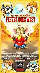 An American Tail, Fievel Goes West (McDonalds Promo) VHS Tape - new in shrinkwrp