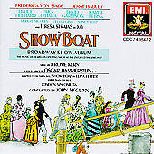 SHOW BOAT Broadway Album CD 1988 Studio Cast MINT CONDITION disc & case