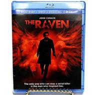 THE RAVEN (2012) ~ Blu-ray + DVD + Digital ~ Brand new in shrinkwrap!