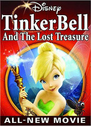 Tinker Bell and the Lost Treasure (DVD) ... VG+ Condition disc! + FAST Shipping!