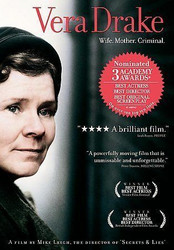 Vera Drake (Widescreen) (DVD) ++ MINT CONDITION DISC! + FAST Shipping!