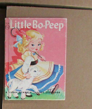 Little Bo-Peep (Junior Elf Book No. 8128) by Helen Wing and Mary C. Jane