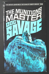 Doc Savage: The Munitions Master (Vol 58, pb) by Kenneth Robeson Great Cond!