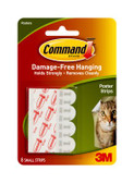 Command™ Poster Strips 12pk- 17024 3M ID XA004194891 Lightweight items For posters and signs Damage-Free Hanging Easy to apply