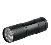 9 led uv ultaviloet torch