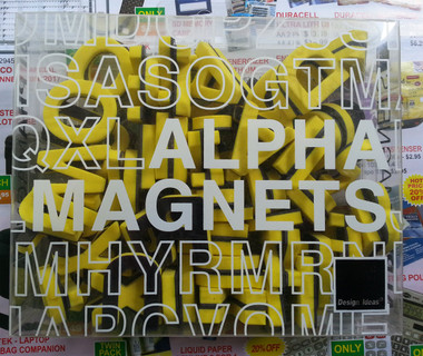 Letters Moulded Magnetic Letters Yellow 27mm - pack 90
