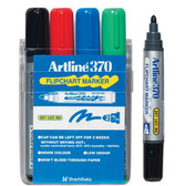 •  Water based ink will not bleed through even thin paper •  Dry Safe ink so cap can be left off up to 14 days without drying out •  Bright bold colours easily seen on flipchart pads •  Low odour •  Ink is Xylene free and RoHS compliant •  Bullet nib with a 2mm line width