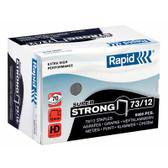 Rapid HD31 Plier Staples 73/12 box 5000 FITS KP-R31 HD31 70 sheets