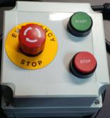 1 HP - 120-V Non-Reversing Single Phase Magnetic Motor Starter w/Receptacle