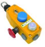 GLM Rope Switch - 2NC 2NO - M20 - Die-Cast w/LED