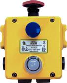 GLES - Heavy Duty E-Stop Station Illuminated - 4NC 2NO - M20 - Die-Cast