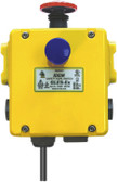 GLES-Ex - Explosion Proof Heavy Duty E-Stop Station - 3NC 1NO - Die-Cast 3M Cable