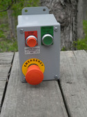 Operator Station - 22mm - E-Stop, Start, & Stop Push Buttons - Metal