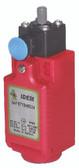 LSPS-R-PP Pin Plunger Limit Switch w/Reset - 1NC 1NO Snap - QCM12 - Composite