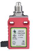 LSMM-PMPP-E Panel Mount Pin Plunger Mini Limit Switch - 2NC 1NO - 2M Cable End - Die Cast