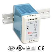 Power Supply - 100 Watt - 24 VDC