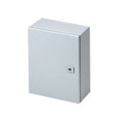 WM161206NC - Wall Mount Enclosure 16 x 12 x 6 - NEMA 12, 3R, 4 Painted Steel