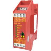 SCR-21-i - Viper Safety Relay - 2NC - 24 VAC/DC