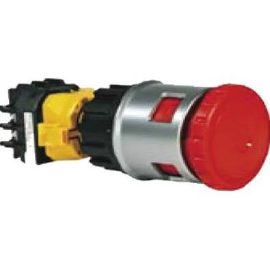 E-Stop Operator - 4 N/C - Fail Safe - 30mm - Padlock Illuminated
