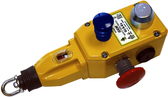 GLS Rope Switch - 2NC 1NO - M20 - Die-Cast w/SG/FR LED 24 VDC