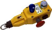 "GLS Rope Switch - 2NC 2NO - 1/2"" NPT - Die-Cast w/SG/FR LED 24 VDC"