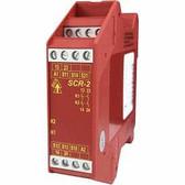 SCR-2 - Safety Relay - 2NC - 24 VAC/DC - Plug-in