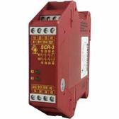 SCR-3 - Safety Relay - 3NC 1NO - 24 VAC/DC - Plug-in