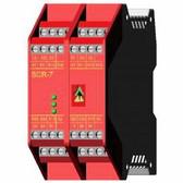 SCR-7 - Safety Relay - 7NC 4NO - 24 VAC/DC - Plug-in