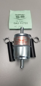 Fuel Filter with hoses and clamps