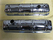Valve Cover, Chrome - Lark & Hawk - Pair