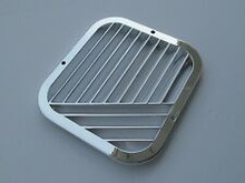 Grill, Air Outlet - Avanti Chrome Plated