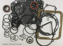 Automatic Transmission Gasket & Seal Kit - Stude. V8 and Avanti