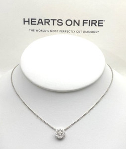 Hearts on Fire Fulfillment Pendant Necklace