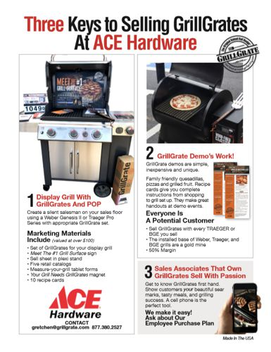 Ace Selling Sheet