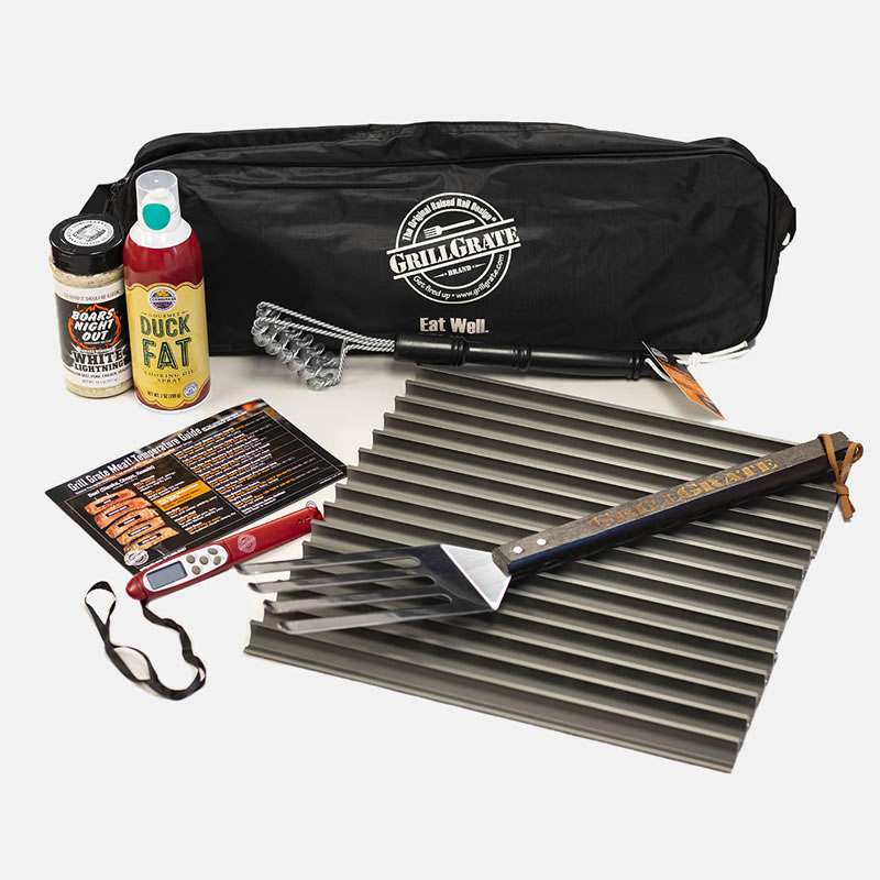 Complete Grill and Barbecue Gift Set