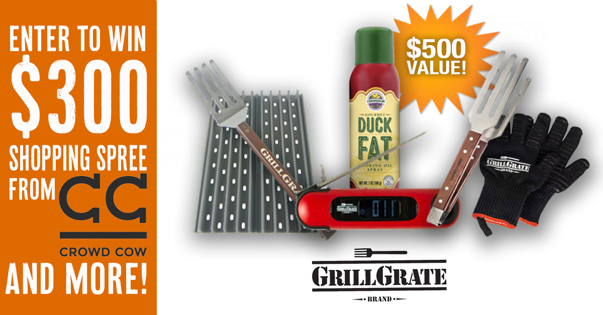 Win the HOLY COW collection from GrillGrate